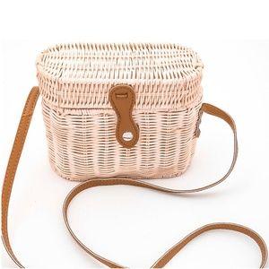 Handbags - 🆑 NWT Natural Le Sable Straw Satchel